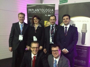 Gruppenbild der Referenten auf dem Krakauer Implantologiemeeting 2012
