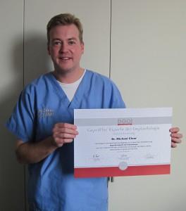 Erfolgreiche Rezertifizierung als Geprüfter Experte der Implantologie 2011