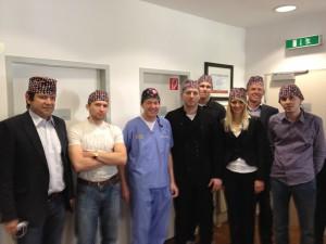 Live-OP-Kurs für russische Zahnärzte in Kassel 2012