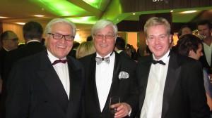 Dr. Claar trifft Frank-Walter Steinmeier und Bernhard Töpper (Mitte)