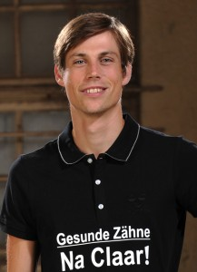 Florian Margraf, Trainer der des TSV Jahn Damenvolleyballmannschaft