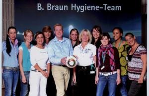 Das Praxisteam besucht den Hygienetag der Firma B. Braun.